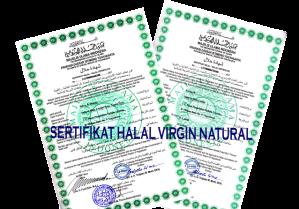 SERTIFIKAT HALAL VIRGINNATURAL